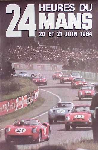 classement des 24 heures du mans 1964. Black Bedroom Furniture Sets. Home Design Ideas