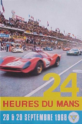 classement des 24 heures du mans 1968. Black Bedroom Furniture Sets. Home Design Ideas