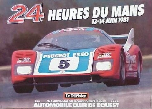 classement des 24 heures du mans 1981. Black Bedroom Furniture Sets. Home Design Ideas