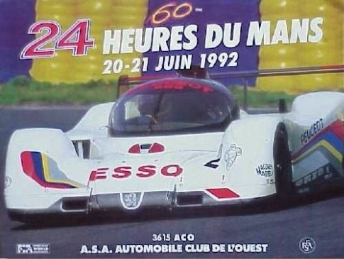 classement des 24 heures du mans 1992. Black Bedroom Furniture Sets. Home Design Ideas