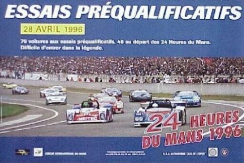 classement des 24 heures du mans 1996. Black Bedroom Furniture Sets. Home Design Ideas