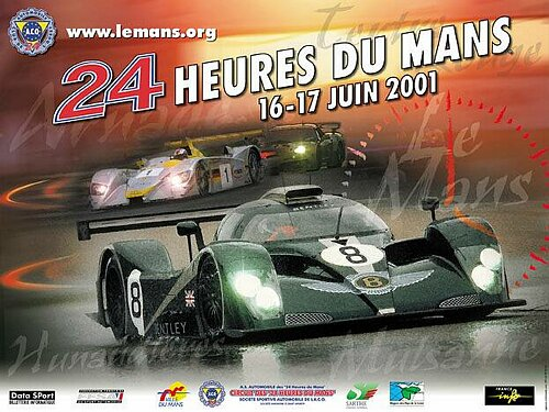 classement des 24 heures du mans 2001. Black Bedroom Furniture Sets. Home Design Ideas