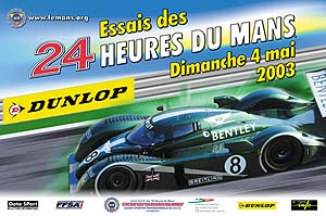 classement des 24 heures du mans 2003. Black Bedroom Furniture Sets. Home Design Ideas