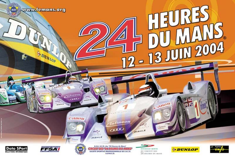 classement des 24 heures du mans 2004. Black Bedroom Furniture Sets. Home Design Ideas